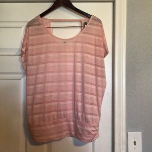 Cute pink plus size top